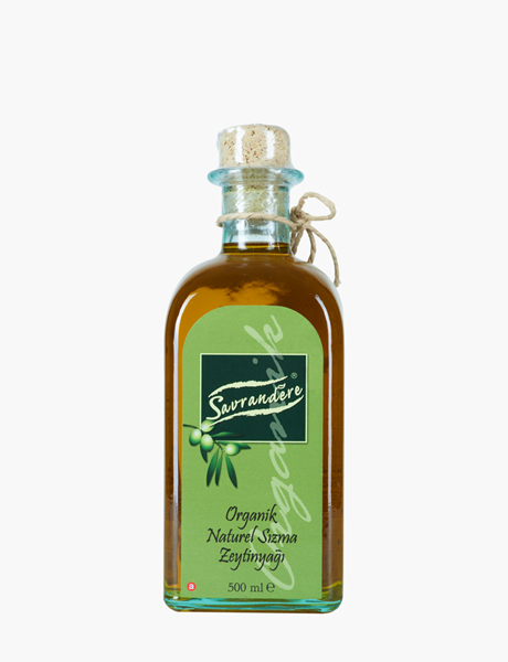 Organik Naturel Sızma Zeytinyağı 500 ml Quadrotta Şişe resmi